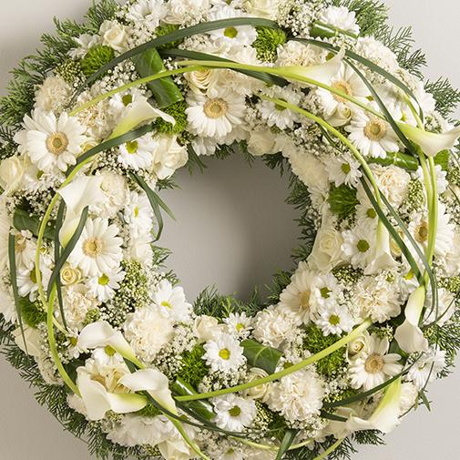 Fleurs deuil Noblesse