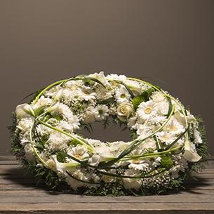 Fleurs deuil Noblesse Deuil