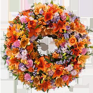 Fleurs deuil Tradition Deuil