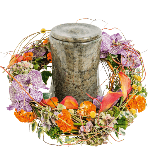 Fleurs deuil Aphélie