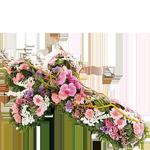 Fleurs deuil Commémoration Deuil
