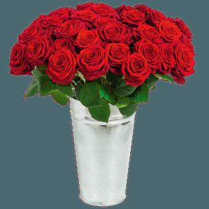 Fleurs deuil Rose du dernier adieu Deuil