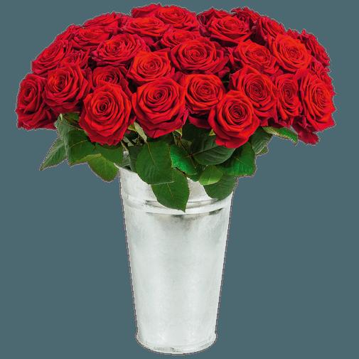 Fleurs deuil Rose du dernier adieu