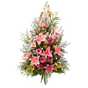 Fleurs deuil Symphonie rose Deuil