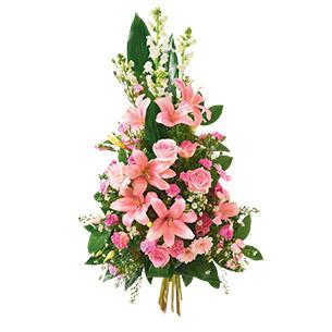 Fleurs deuil Hommage Deuil
