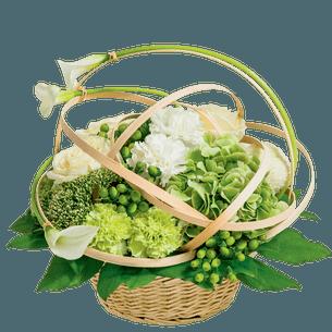 Fleurs deuil Astre Deuil