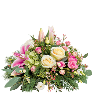 Fleurs deuil Aria Toussaint