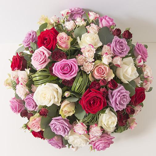 Fleurs deuil Rosae