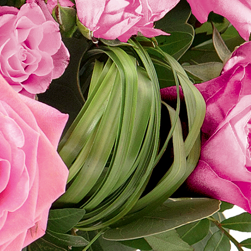 Fleurs deuil Rosae rose