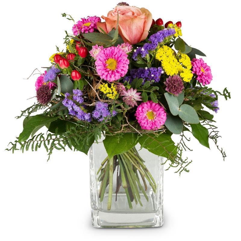 Bouquet de fleurs Little flower message