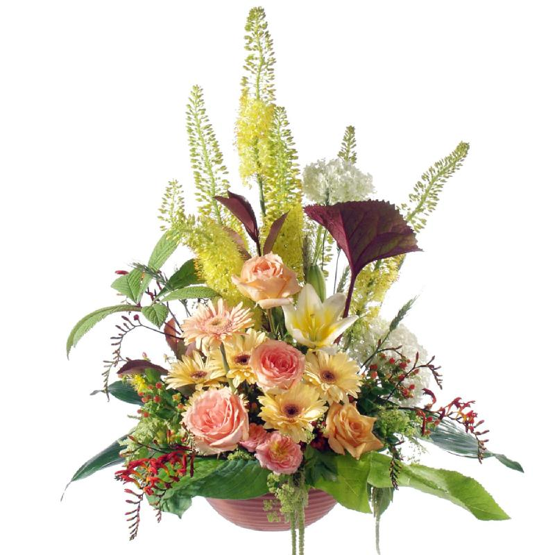 Bouquet de fleurs In relatedness & sadness