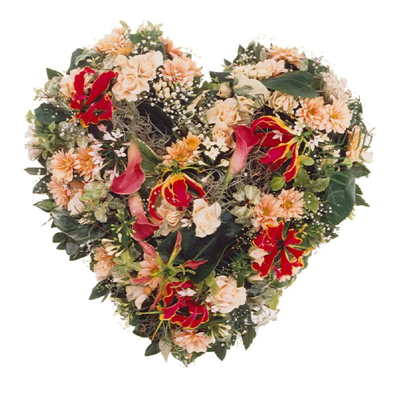 Bouquet de fleurs In our hearts you live on