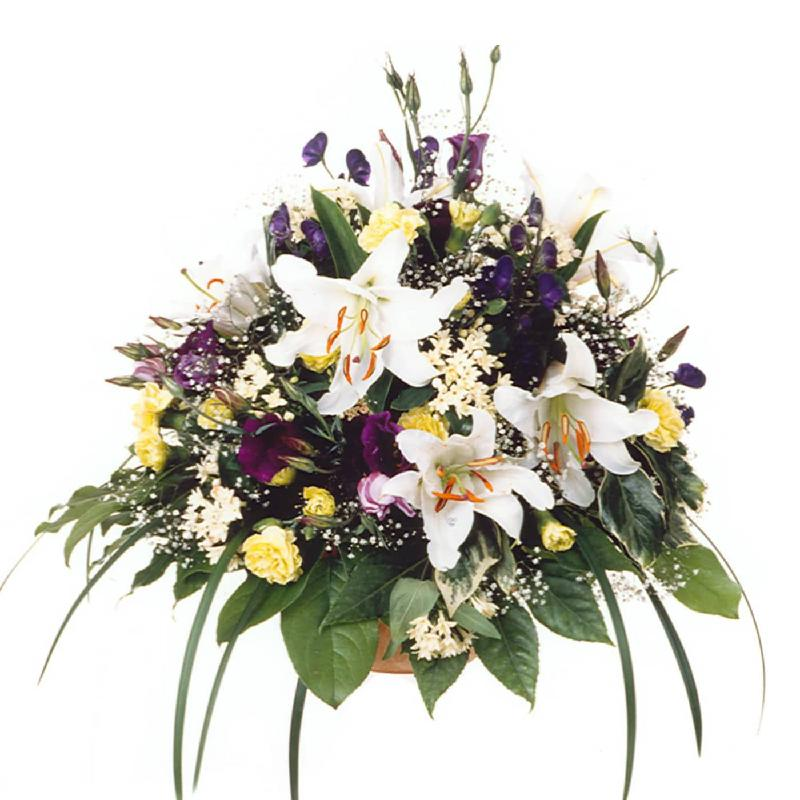 Bouquet de fleurs In memory