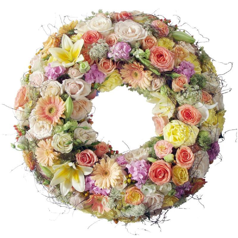 Bouquet de fleurs In deep connection (for the cemetery)