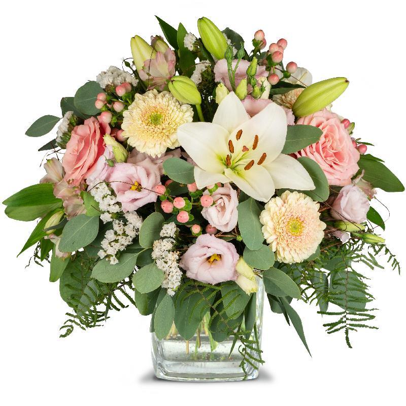 Bouquet de fleurs Lily Princess