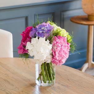 Bouquet de fleurs Brassée d'Hortensias