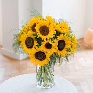 Bouquet de fleurs Brassée de Tournesols Journée internationale de l'Amitié
