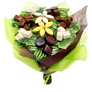 Fleurs et cadeaux Bouquet des gourmands Anniversaire