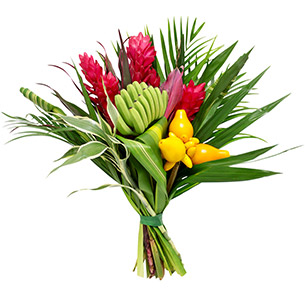 Fleurs et cadeaux Tropical Remerciements