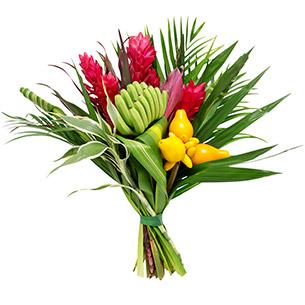 Fleurs et cadeaux Tropical Anniversaire