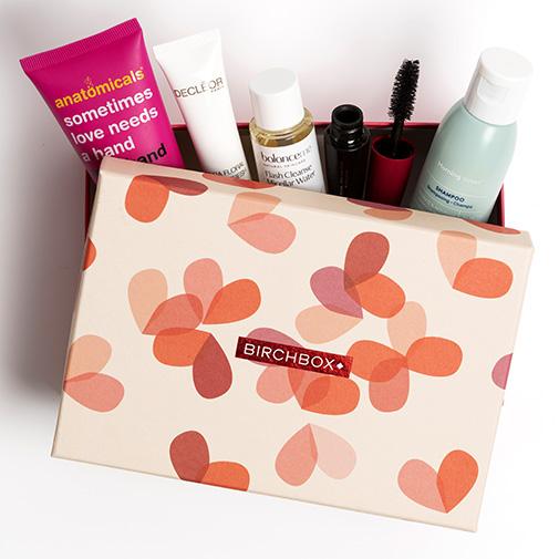Fleurs et cadeaux Stéphanotis et sa box beauté Birchbox