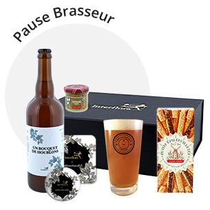 Fleurs et cadeaux Coffret Pause Brasseur Collection Hommes