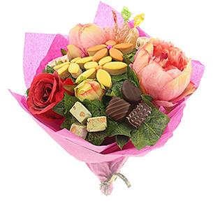 Fleurs et cadeaux Pivoine gourmande Fête des Mères