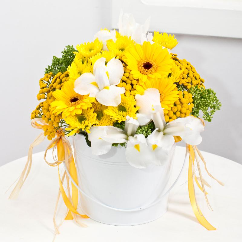 "Bouquet de fleurs ""Yellow Dream"""