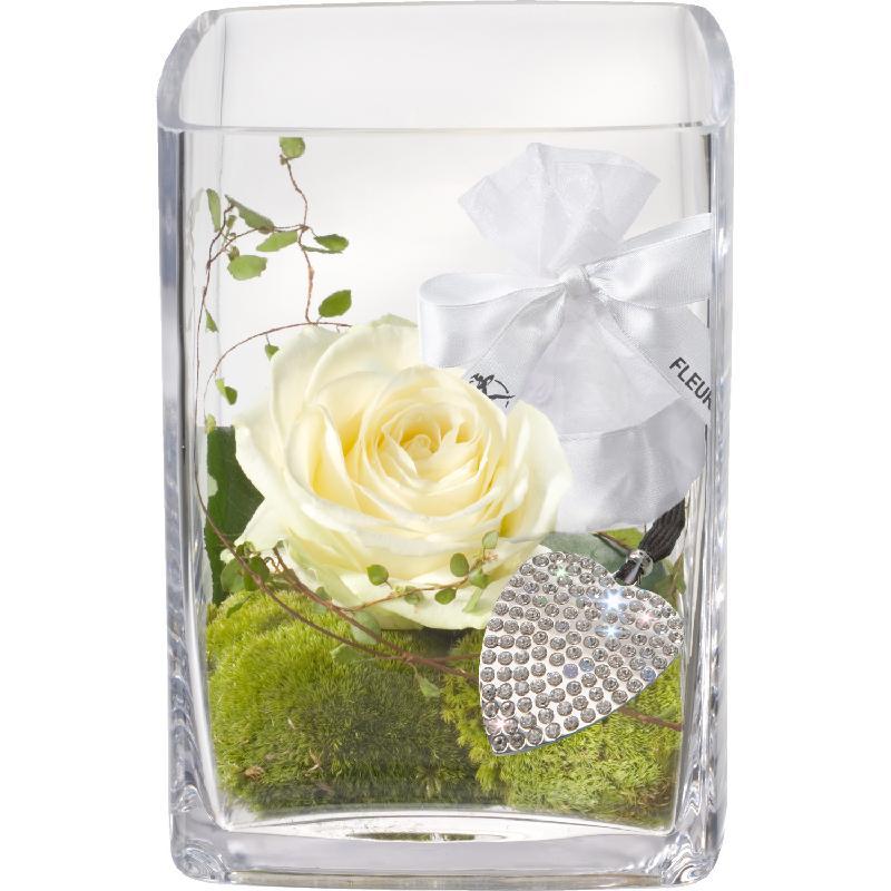 Bouquet de fleurs Ballerina, incl. key ring with 112 Swarovski® crystals