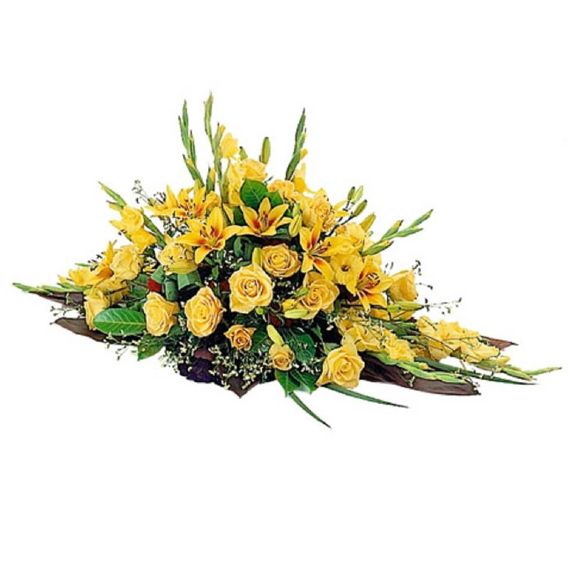 Bouquet de fleurs Funeral Spray (For the Cemetery)