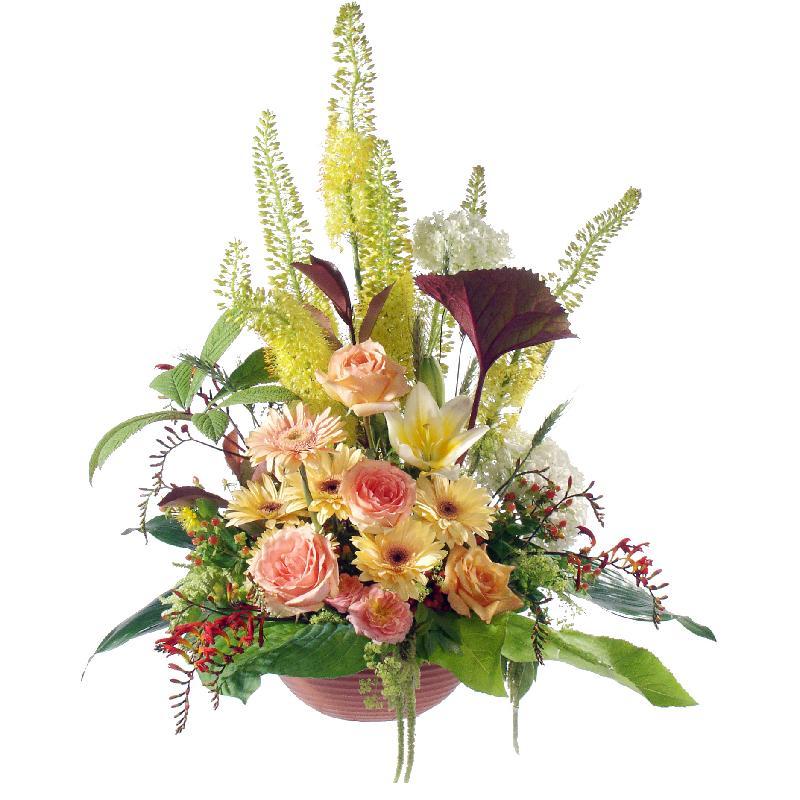Bouquet de fleurs Last Tribute (For the Cemetery)