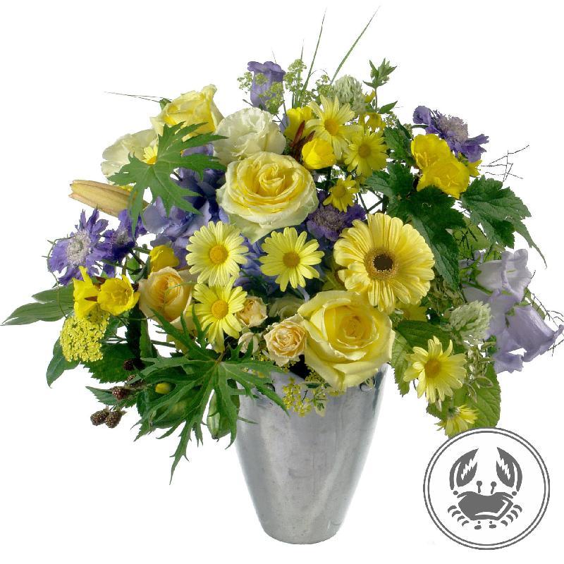Bouquet de fleurs Bouquet Cancer (22.06. – 22.07.)