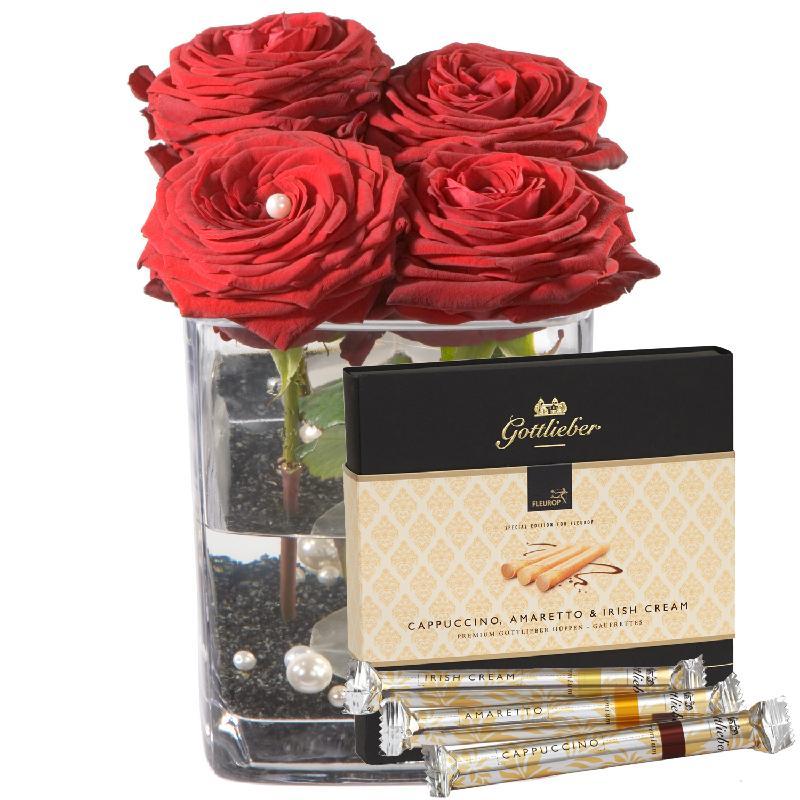 """Bouquet de fleurs Sweet Seduction with Gottlieber Hüppen """"Special Edition for"""