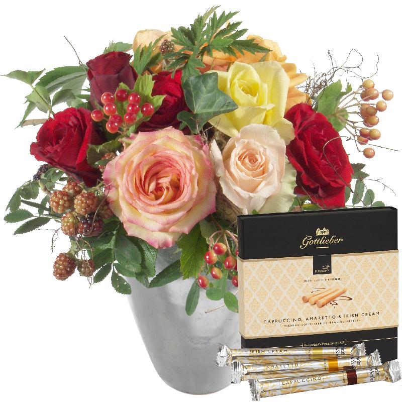 "Bouquet de fleurs Sweet Greetings with Gottlieber Hüppen ""Special Edition for"
