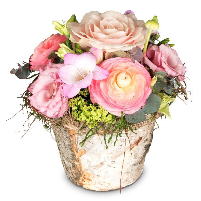 Bouquet de fleurs Sweet Spring Basket