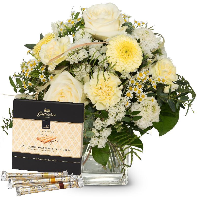 "Bouquet de fleurs Natural lightness with Gottlieber Hüppen ""Special Edition fo"