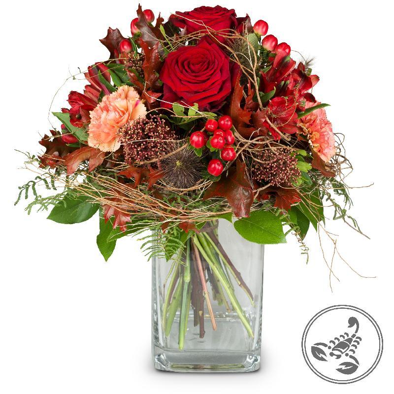 Bouquet de fleurs Bouquet Scorpio (24.10. - 22.11.)