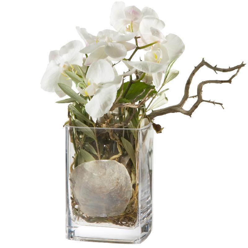 Bouquet de fleurs Mystical Orchids (including vase)