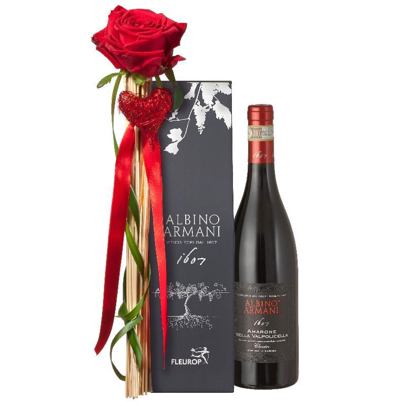 Bouquet de fleurs Sweet Nothings: with  Amarone Albino Armani  DOCG (75cl)
