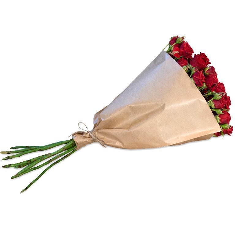 Bouquet de fleurs Bundle of red Polyantha Roses