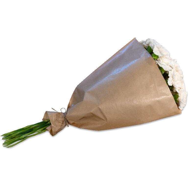 Bouquet de fleurs Bundle of cream-colored Carnations