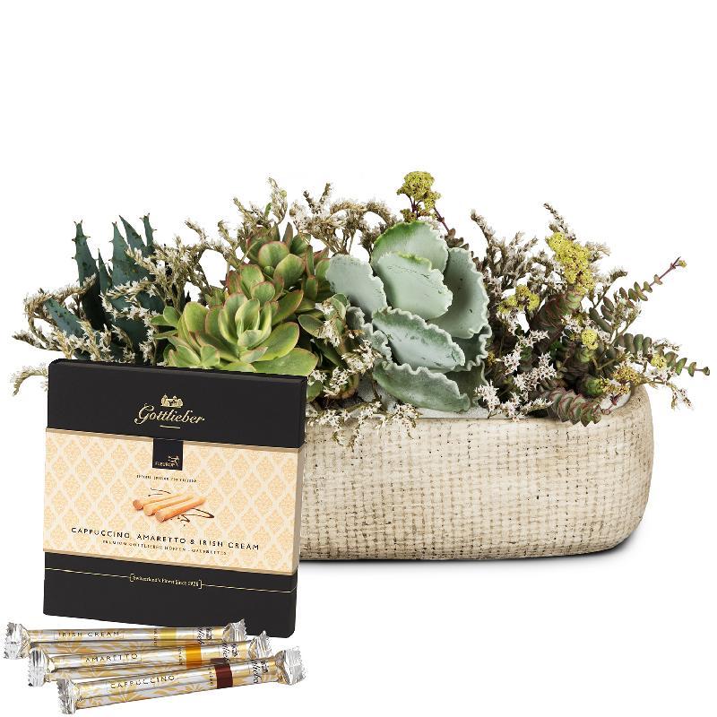 """Bouquet de fleurs Desert Feeling with Gottlieber Hüppen """"Special Edition for F"""
