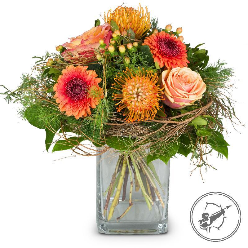 Bouquet de fleurs Bouquet Sagittarius (23.11. - 21.12.)