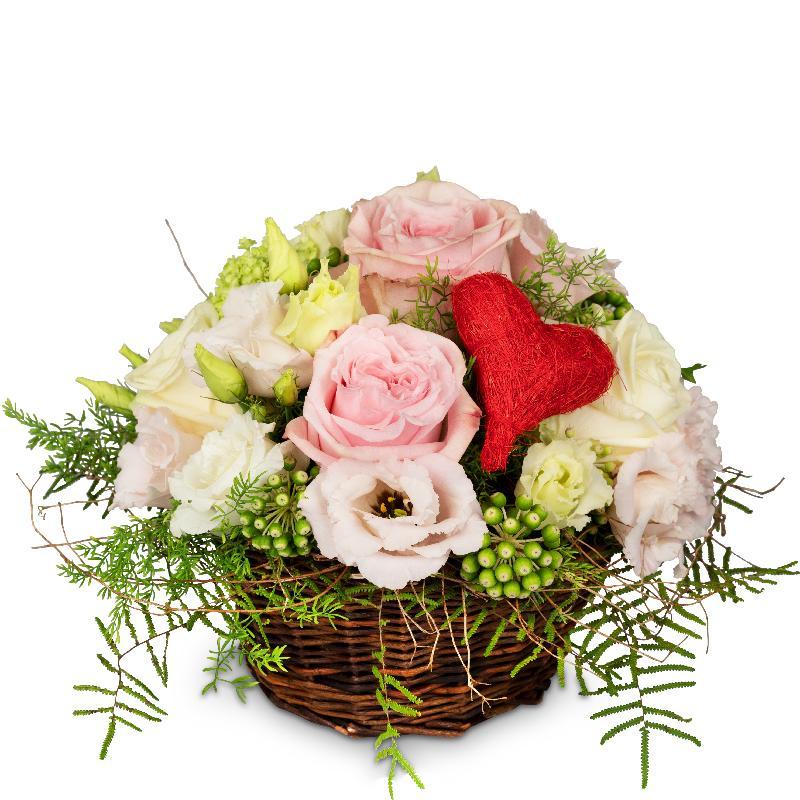 Bouquet de fleurs A Basket Filled with Love