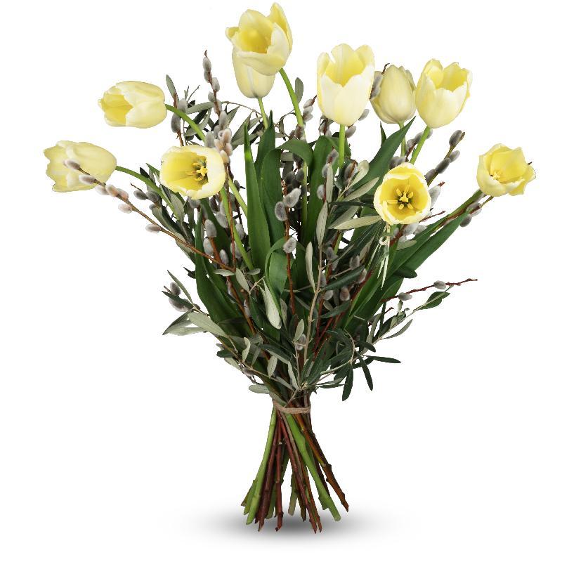 Bouquet de fleurs Natural - French Tulips
