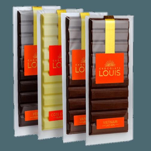 null Découverte origine chocolat noir et lait