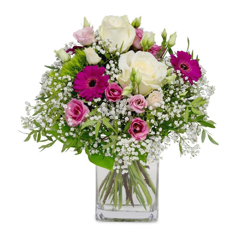 Bouquet de fleurs A warm compliment