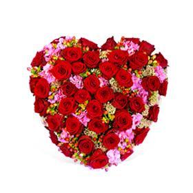 Bouquet de fleurs With eternal love