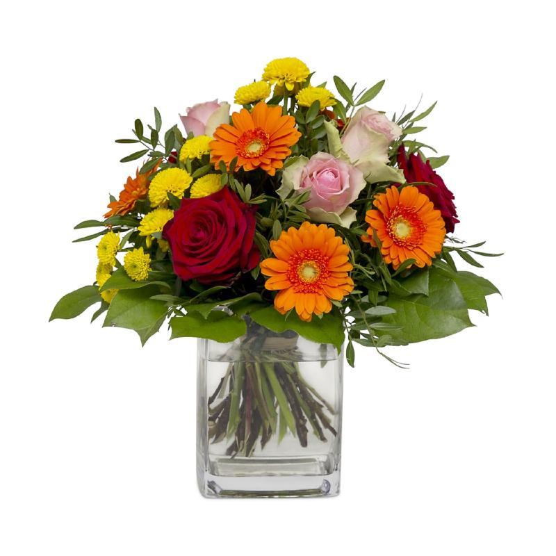 Bouquet de fleurs Best of Luck