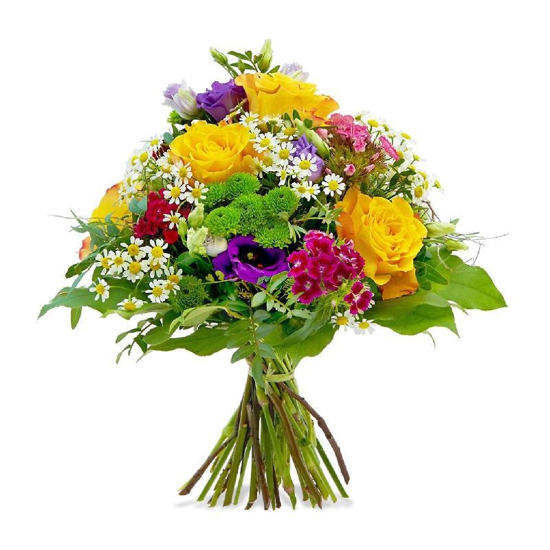 Bouquet de fleurs Colorful Birthday Greetings